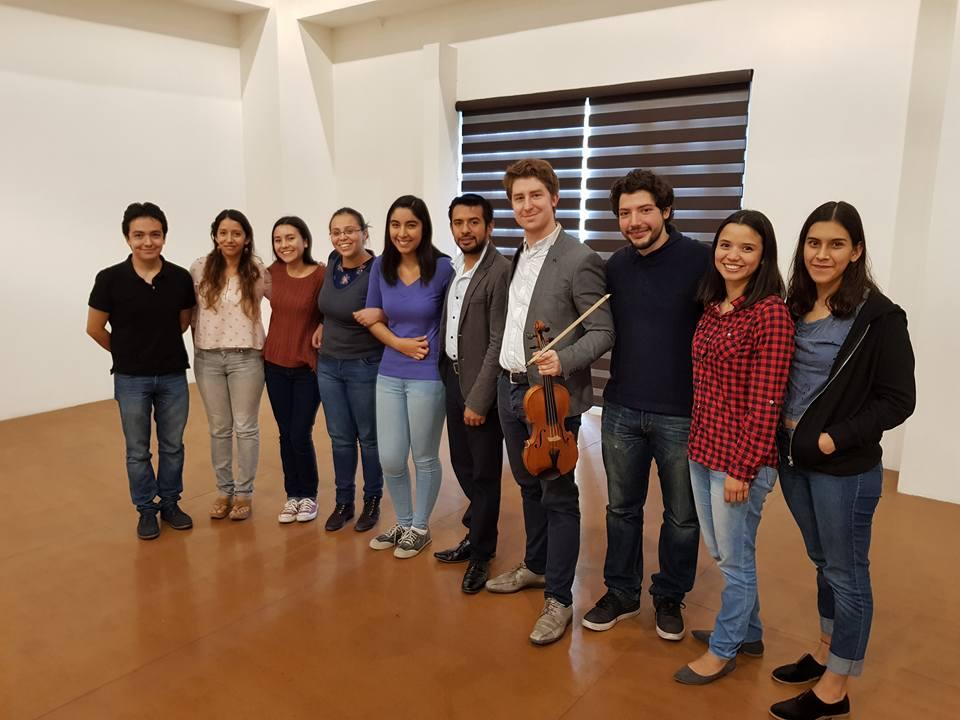 String masterclass in Irapuato